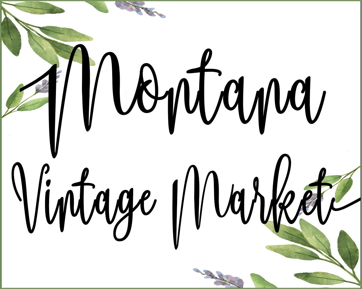 Montana Vintage Market Logo