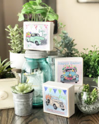 Farmhouse Easter Truck Decor