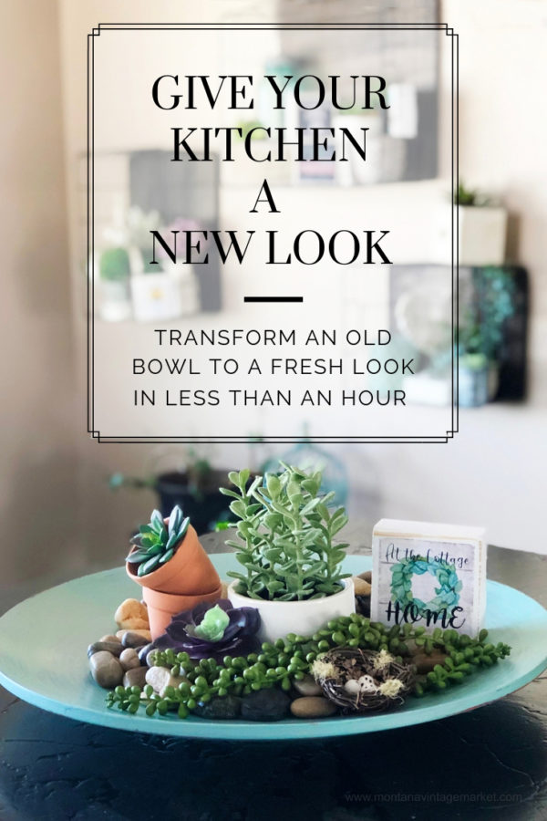 Give your Kitchen a new look in less than an hour