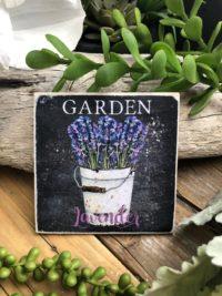 Lavender decor kitchen magnet