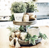 Beautiful Tiered Tray Ideas for Spring