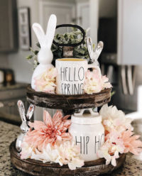 Inspiring Easter Tiered Tray ideas