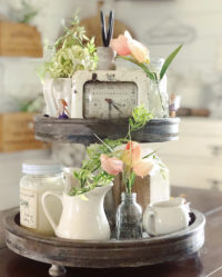 2 tier tray inspiring ideas