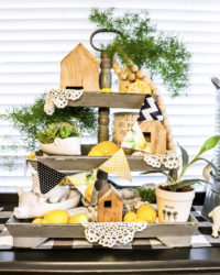 Inspiring Tiered Tray Decor