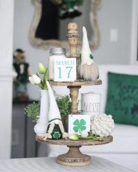 St. Patricks Day Tiered Trays