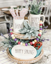 Tiered Tray ideas for Easter