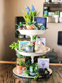 Tiered Trays for Easter