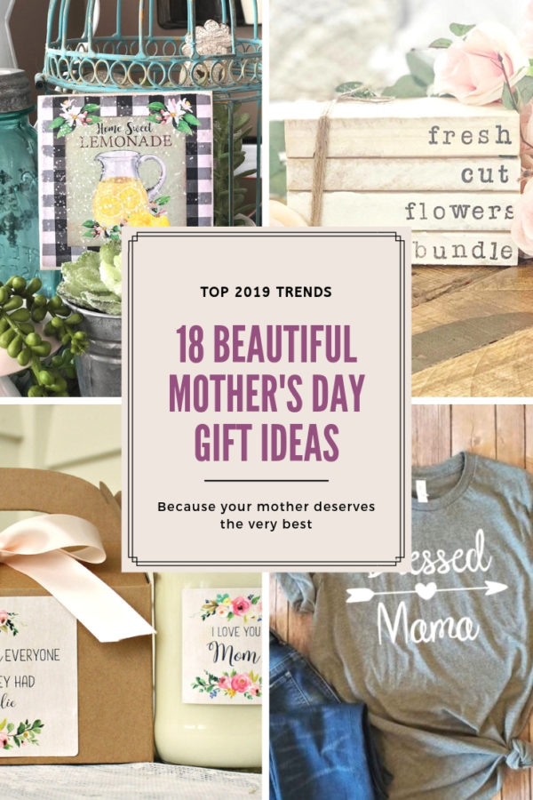 18 unique mother's Day gift ideas that your mom will love from Etsy