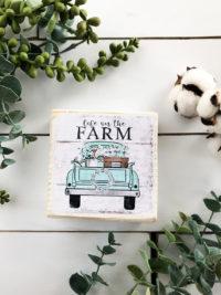 cotton stem farm truck ideas on etsy