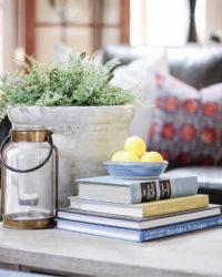 Lemon decor ideas for living room