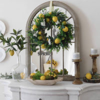 lemon decor for the home