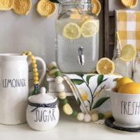 rae dunn lemon decor for the home