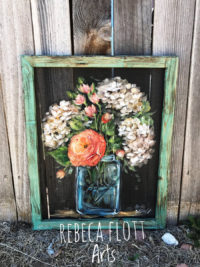 flower art ideas on etsy