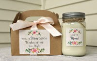 candle sets for mother's day