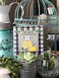 lemon decor ideas, cute fridge magnets on etsy