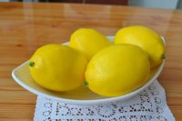 artificial lemons for your home decor
