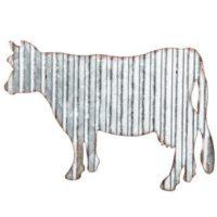 Metal Cow Farmhouse decor