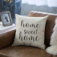 Farmhouse Home Sweet Home Pillow