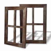 Rustic Window Decor