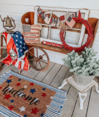 Front Porch Patriotic Decor