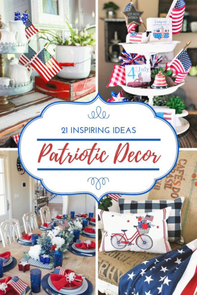 patriotic decor for farmhouse