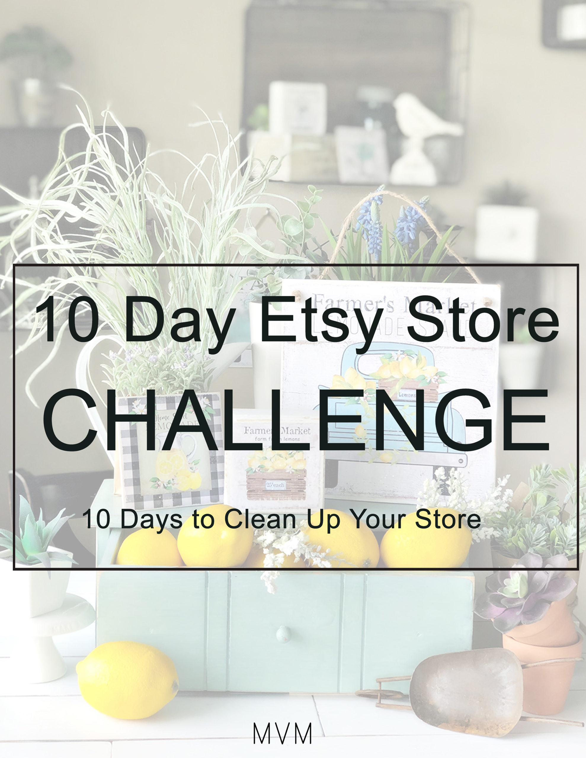 10 Day Etsy Store Challenge